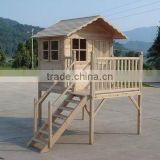 Kids Outdoor Wooden Playhouse