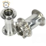 aluminum alloy flange bushing hub cnc turning machining bicycle parts