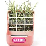 carnopet plastic abs rabbit stable grass feeder