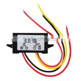 Best selling Waterproof DC/DC Converter 12V Step down to 5V 3A 15W Power Supply Module