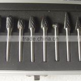 Tungsten Carbide Burr Rotary Cutter Files Set CNC Engraving Bit