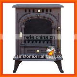 Wood burning cast iron stove with CE