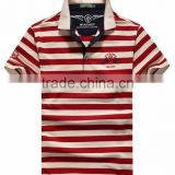 Polo Homme Shirts New Fashion Breathable Striped Polo Shirt Men's Tops&Tees Brand Summer Clothing