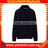 2013 latest style comfortable turtleneck black plain mens cable knit pullover sweaters