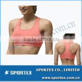 Gym top bra, fashionable ladies gym sports bra top