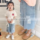 S16964A children jeans denim trousers for girls