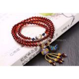 Neffly jewelry natural blood amber bracelets 4 mm with S925 silver accessories natural beeswax bluing, lapis lazuli beads with pearls
