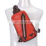 practical trendy fishing mens leather sling bag