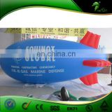 Advertising Hot Sale Inflatable Gelium Airship Blue Sky Flying Helium Balloon Blimp