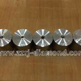 Polycrystalline diamond stripping dies