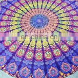 Round Mandala Tapestry Round Cotton Mandala Tapestry Bedspread