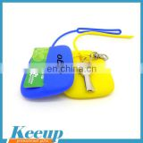 Custom Mix color Silicone Car Key Case for Women