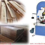 Automatic wood cutting vertical band saw machine manufacturer China
