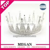 High quality rhinestone baby tiara crown bridal tiara crown