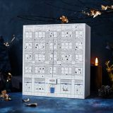 Custom Printed Gift Cardboard Packaging Chocolate Advent Calendar Box with little drawers
