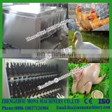 Centrifugal poultry hair removal machine / plucking machine / bird/quail/chicken/duck/goose feather plucker