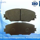 D1210 Toyota brake pad,semi metallic material,good wear-resisting