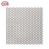 5mm stainless steel perforated metals ss304 perforated square hole sheet