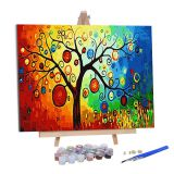 diy oil Painting by Numbers for Adults Kit, DIY Oil Painting bedroom 20*20