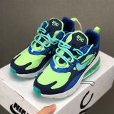 Nike Air Max 270 React For Men in blue nike shoes for men 2019