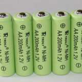 Ni-MH AA200mAh battery for solar lawn light,electric appliance