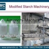 Pre-gelatinized/modifed starch extrusion machinery