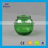 Wholesale pumpkin shaped hanging glass jar colorful glass flower vase                                                                         Quality Choice