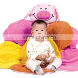 2015 hot sale pvc inflatable baby pig play mat
