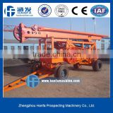 highly powerful !!! borehole drilling machine HF-6A for piling foundation,percussion drilling rig
