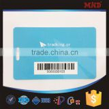 pvc atmel T5577 smart card with barcode