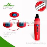 2016 shenzhen big battery mod vaporizer Airistech LATIVA baking vaporizer,most popular vaporizer