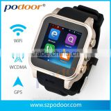AWatch, bluetooth Wrist Watches Android 4.2.2 smart watch with pedometer, Smart Watch Cellphone