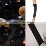 Arm Sleeve Cover Skin Protection Basketball Sport Stretchy Armband Black