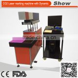 AZ-FR30 Factory prize! CO2 Laser marking machine for PVC Acrylic Leather Glass Plastic wood metal