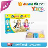 JM017025 pictures of educational toys blocks building toy white beach sand
