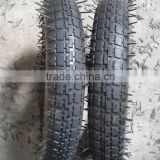 Brazil market wheelbarrow tyre 3.00/3.25-8