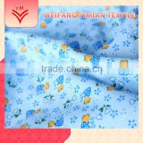 Trade Assurance Supplier Rayon 100% Polyester Flannel Printed Fabric