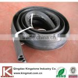 Low cost rubber speed hump cable protector