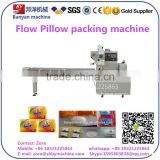 Hot sale!!!Horizontal Flow baby Soap Packing / sealing / wrapping Machine Shanghai Manufacturer Price