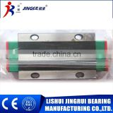 Slide Block and Linear Guide Rail for automatic machines supplied by lishui jingrui factory with low price