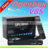 Wholesale Original Libertview V8S HD Satellite TV Receiver Support Youtube,Youporn,3G,USB Wifi Decoder Openbox V8S