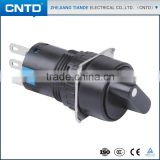 CNTD Top Selling Products 2016 Good Performance For Push Button Starter Switch With Circular Knob