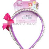 Hot sale 3 pcs fashion accessories including plastic headbands and wide plastic headbands
