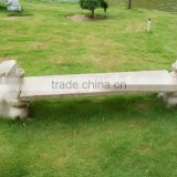 Animal Designs Granite Stone Outdoor Bench