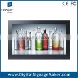 Retail store wall mounted wide screen 19 inch touch screen lcd digitizer advertising monitor