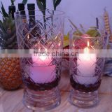 flower floating candle for home decoration