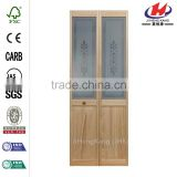 JHK-G29 Pooja Room Built In Blinds For Sale Modern Designs Solid Wooden Closet Sliding Glass Doors
