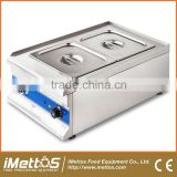Commercial hotel restaurant table top electric bain marie food warmer