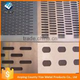Alibaba express factory sale aluminium perforated panel with low price