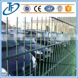 2015 hot sale High quality security welded double wire mesh fence / double loop wire fence for factory Manufacturer